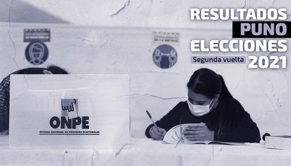 Conoce los resultados electorales en Puno   Foto: Diseño El Comercio
