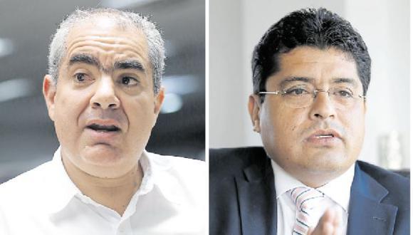 El JEE Lima Centro solo había admitido hasta ayer los pedidos de inscripción de Velarde (Siempre Unidos) y Gómez Baca (Vamos Perú). (Fotos: Archivo El Comercio)