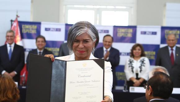 Maria Zavala es la sexta integrante de la Junta Nacional de Justicia (Foto: Alessandro Currarino / GEC)