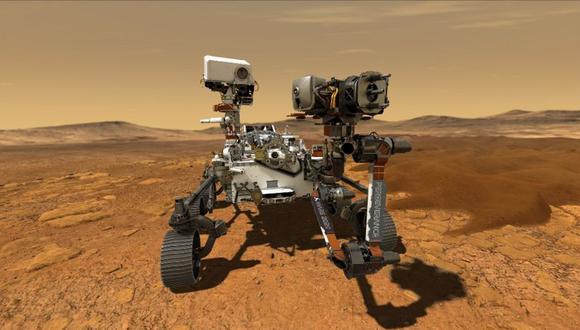 Perseverance estudiará las rocas y la atmósfera de Marte durante al menos un año marciano (cerca de 687 días terrestres). (NASA)