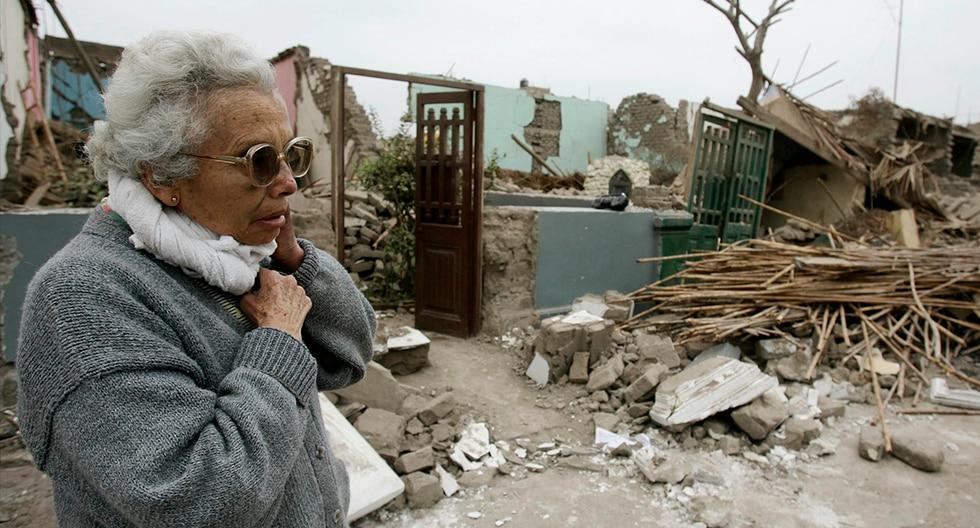 El terremoto de Pisco de 2007 fue un sismo registrado el 15 de agosto de 2007 a las 18:40 hora local con una duración cerca de 3 min 30 s. (Foto: EFE)