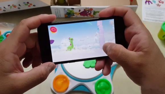 El nuevo Play-Doh Touch de Hasbro permite convertir las creaciones en masa de moldear de los pequeños, en protagonistas de un videojuego para dispositivos móviles.