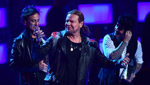 Maná recibirá distinción durante los premios Billboard con el galardón Ícono. (Foto: Robyn BECK / AFP)