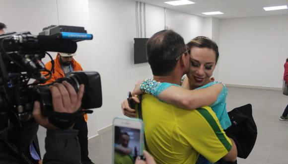 La brasileña Bruna Wurts ganó la medalla de oro en patinaje artístico en los Juegos Panamericanos 2019. (Video: Kenyi Peña - Imagen: Bruno Camargo)