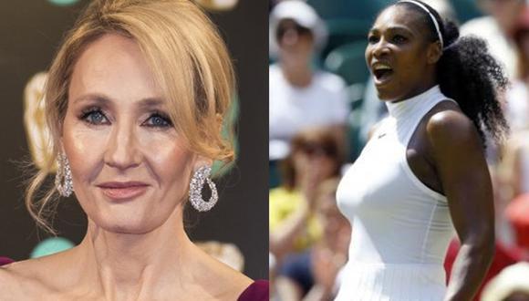 J.K. Rowling acusa de racista y sexista una caricatura de Serena Williams (Foto: Agencias)