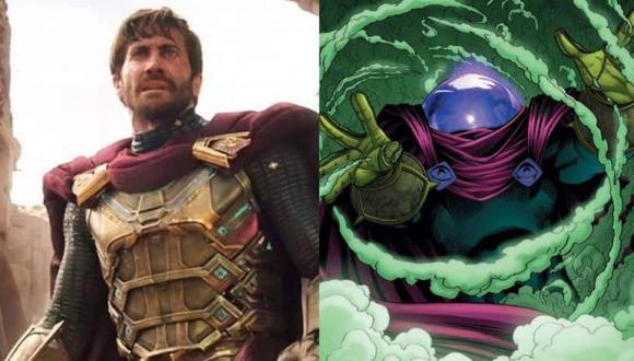 En 2009, Mysterio fue clasificado por IGN como el 85ª mejor villano de cómic de todos los tiempos (Foto: Sony Pictures / Marvel Comics)