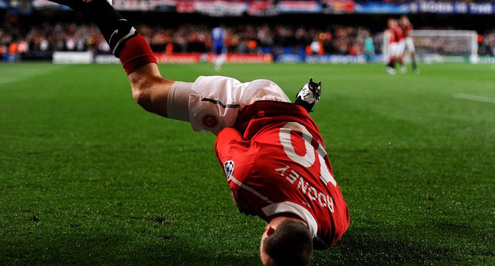 Wayne Rooney cumple una década en el Manchester United - 10