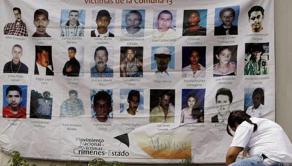 En Medellín hay más de 3.000 desaparecidos en medio del conflicto armado; la zona más afectada es la comuna 13.  Foto: EFE Archivo