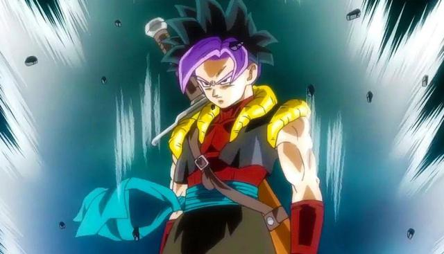 Gohanks, fusion of Gohan Xeno and Trunks of the Future
