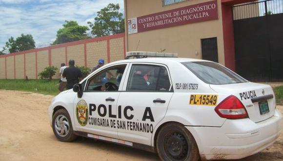Ucayali: 3 internos fugaron de centro de rehabilitación juvenil