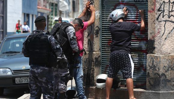 El número de civiles muertos en operaciones policiales ha crecido gradualmente en Río de Janeiro durante los últimos cinco años, hasta el récord de 1.249 entre enero y agosto de 2018. (EFE)