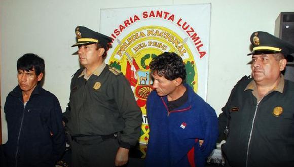 Policía detuvo a 28 personas por diversos delitos en Lima norte