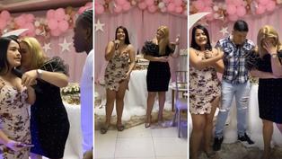 Viral: Jovencita deja al descubierto infidelidad de su madre durante fiesta sorpresa