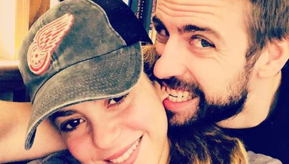 La cantante Shakira y el futbolista Gerard Piqué. (Foto: Instagram)