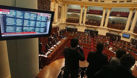 Mañana miércoles se reunirá el pleno del Parlamento para elegir a los nuevos magistrados del Tribunal Constitucional