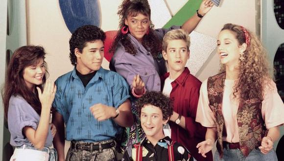 """En la foto, el elenco original de """"Salvado por la campana"""" (Foto: NBC)"""