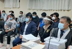 Lambayeque: dictan prisión preventiva para seis miembros de organización criminal