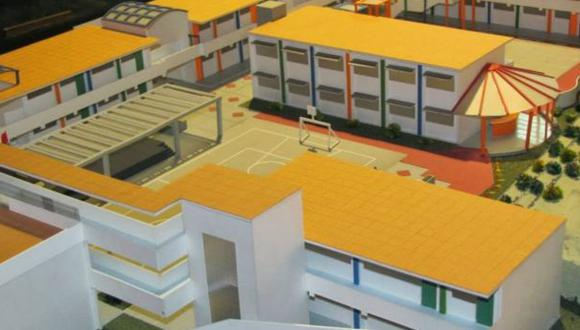 Nuevo colegio emblemático en Cañete costará casi S/. 9 millones