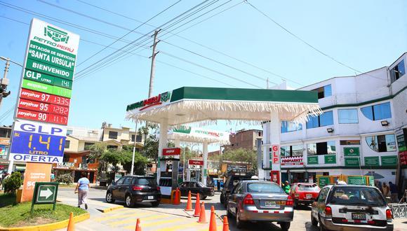 La aplicación trazará la mejor ruta hacia la estación de servicio. (Foto: GEC)
