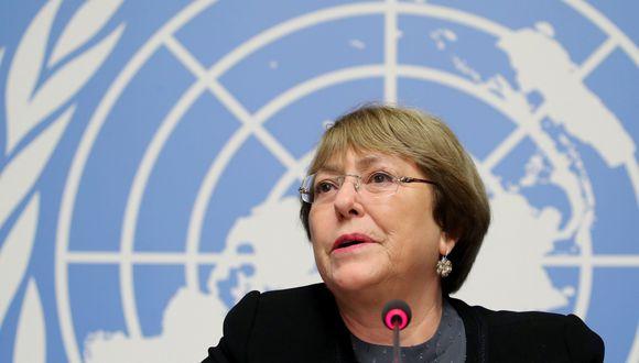 """Michelle Bachelet dijo estar """"profundamente preocupada por la presunta detención"""" e informó que la misión técnica de la ONU que se encuentra en Venezuela """"pidió a las autoridades acceso urgente a Díaz"""". (Reuters)"""