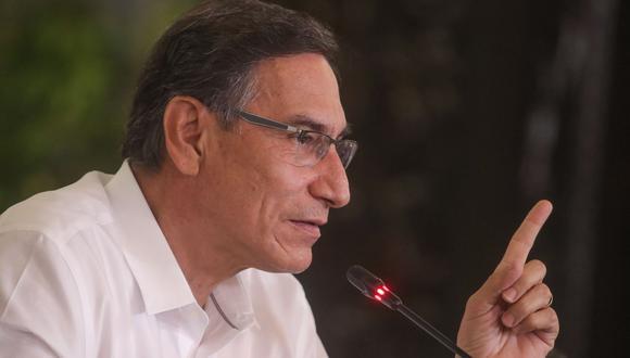 El presidente Martín Vizcarra sostuvo que el peruano no puede ser solo un observador durante el combate contra la pandemia del COVID-19 en el Perú. (Foto: Presidencia de la República)