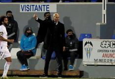 """Zinedine Zidane eliminado de la Copa del Rey: """"Esto no es una vergüenza, son cosas que pasan"""""""