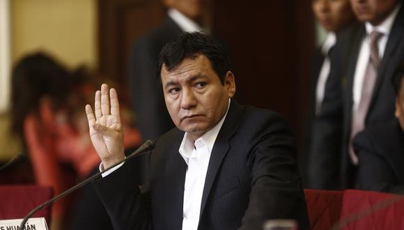 Dipas fue sentenciado a cinco años de prisión efectiva por haber sobrevalorado la compra de un terreno en más de 140 mil soles cuando fue alcalde de Pichari en Cusco. (Foto: GEC)