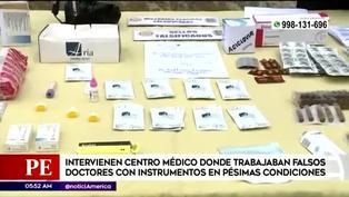 Intervienen centro médico donde trabajaban falsos galenos