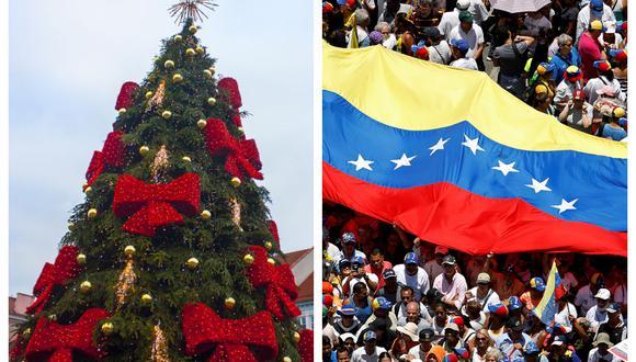 La crisis económica no impide que las familias venezolanas realicen compras navideñas.