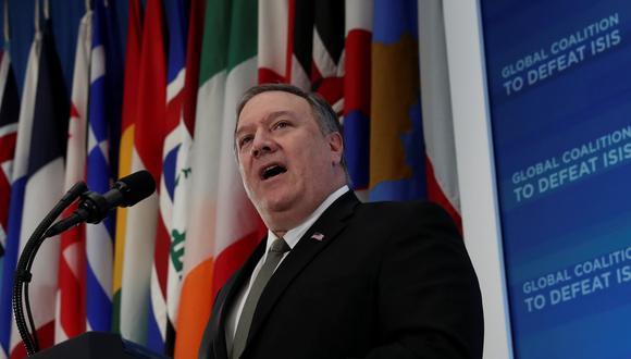 Pompeo dice que Hezbolá está activo en Venezuela y EEUU debe reducir ese riesgo. Foto: Reuters