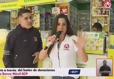 Teletón 2019: La reacción de Vanessa Terkes cuando le dicen que donaron S/1 en la Teletón