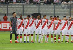 Selección Peruana no jugará amistoso este martes por decisión del comando técnico