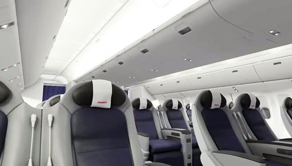Vive la experiencia de viajar en primera clase con IntelliCabin