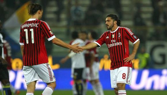 Revelan fuerte broma de Zlatan a Gattuso cuando jugaban juntos