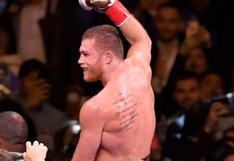 ¿Por qué se podría cancelar la pelea entre Canelo vs. Saunders?