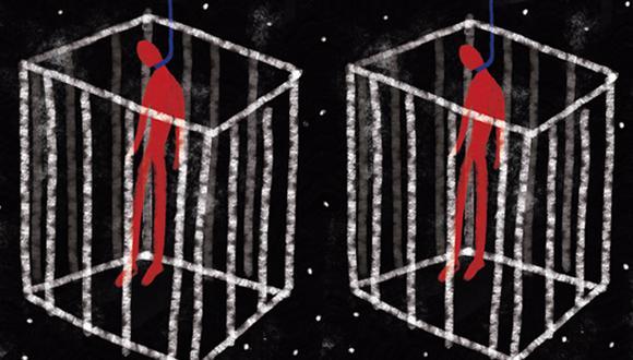 """""""Menudo lío en el que nos meteríamos si decidimos avanzar una propuesta que intente extender la pena de muerte para algún antiguo o nuevo supuesto"""". (Ilustración: Giovanni Tazza)"""