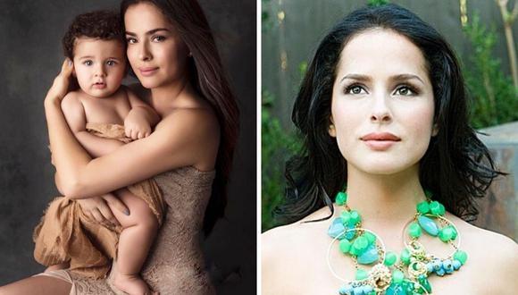 La actriz Danna García se alejó de su familia por casi tres meses tras dar positivo al coronavirus en más de 3 oportunidades. (@dannagarciao).