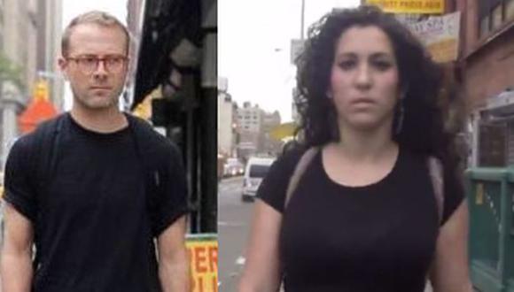 Parodian video de mujer víctima de acoso callejero en New York