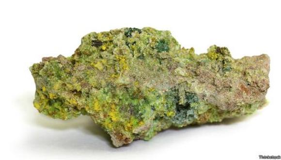El uranio tiene el mayor peso atómico de entre todos los elementos.