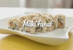 Prepara unos deliciosos makis furai en casa