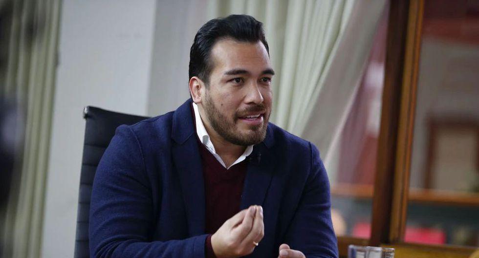 El presidente de la Asociación de Municipalidades, Álvaro Paz de la Barra, dijo que medidas se llevarán al Congreso. (Foto: GEC)