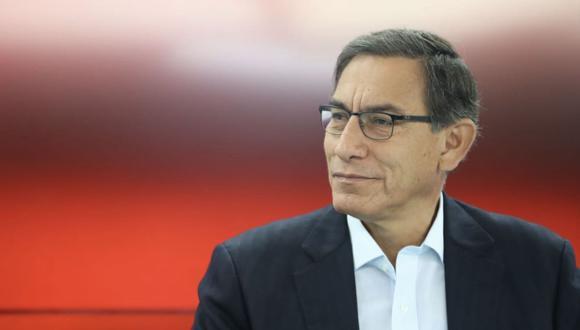 Este jueves, el Poder Judicial evaluará el pedido de prisión preventiva contra Martín Vizcarra. (Foto: Andina)
