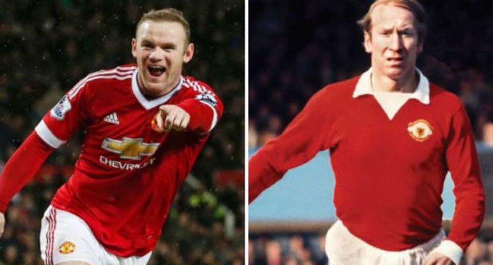 "Rooney sobre récord: ""Es un honor alcanzar a Bobby Charlton"""