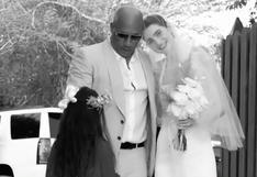 Vin Diesel y el extraordinario gesto con Meadow, la hija de Paul Walker, en el día de su boda