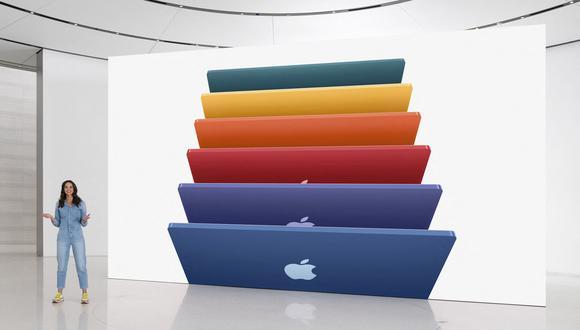 Apple presentó el martes una nueva línea de productos. (Foto: Handout / Apple Inc. / AFP)