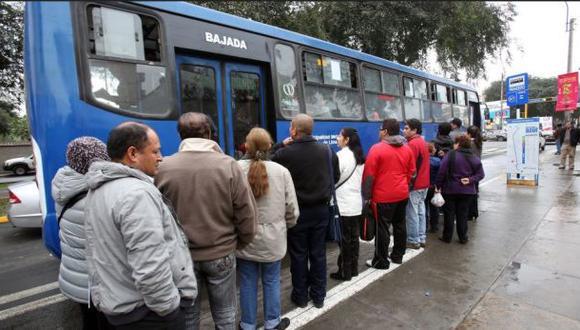Corredor azul: primer día de ensayo convocó a 80 mil pasajeros