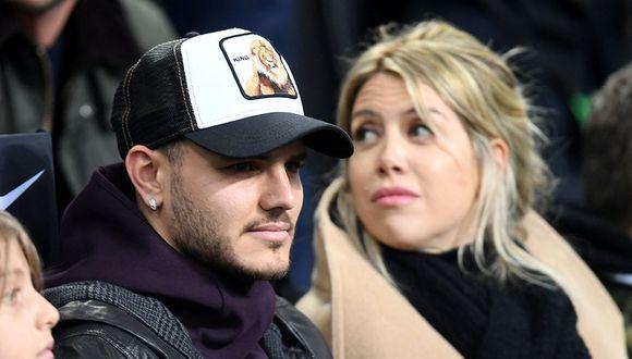 Wanda Nara, esposa y agente de Mauro Icardi, indicó que han reiniciado el diálogo con el Inter de Milán para terminar con el conflicto. (Foto: Reuters)