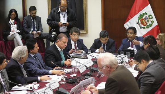 La Subcomisión de Acusaciones tiene pendiente resolver las denuncias constitucionales contra el fiscal de la Nación, Pedro Chávarry. (Foto: Anthony Niño de Guzmán/GEC)