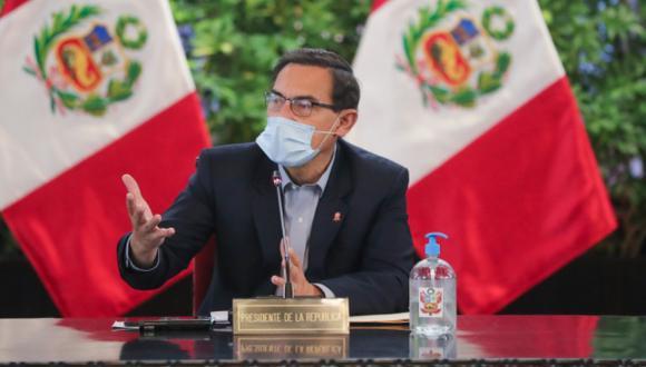 Martín Vizcarra anunció la promulgación de tres autógrafas aprobadas por el Congreso. (Foto: PCM)