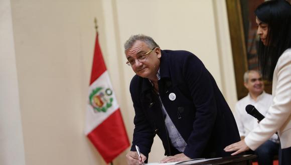 Guerra García Picasso es un economista por la Pontificia Universidad Católica del Perú (PUCP) y cuenta con una maestría en Gestión Pública de la Universidad de Georgetown, de Estados Unidos. (Foto: GEC)